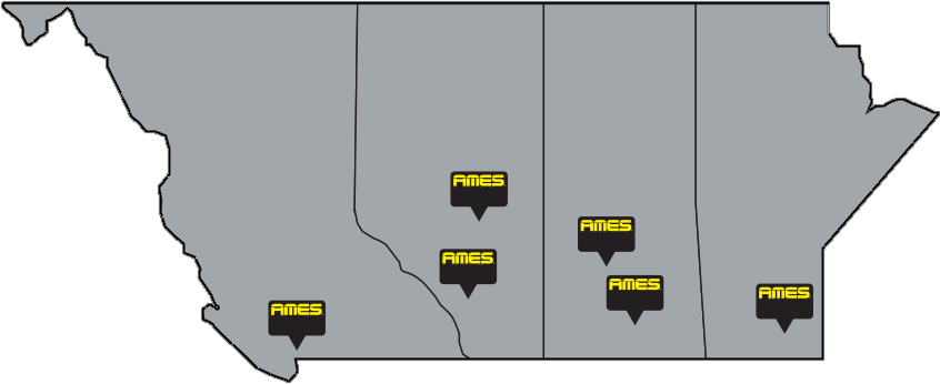 AMES_location_map