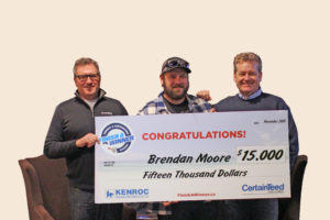 CertainTeed Kenroc contest drywall finishing